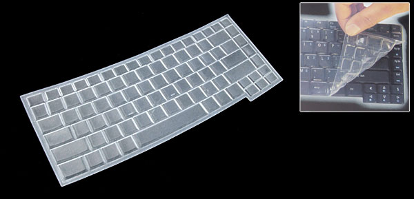 Clear Silicone Keyboard Protector Skin Cover for Acer Travelmate TM4520 (ML-1026a)