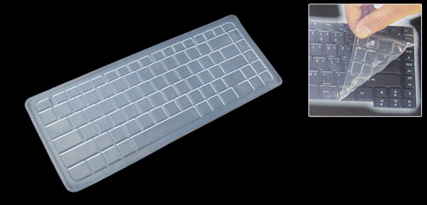 Clear Laptop Keyboard Silicone Skin Cover for HP V3000 DV2000 (ML-1020a)