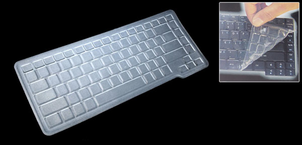 Clear Laptop Keyboard Silicone Skin Cover for HP M2000 V2000 (ML-1020)
