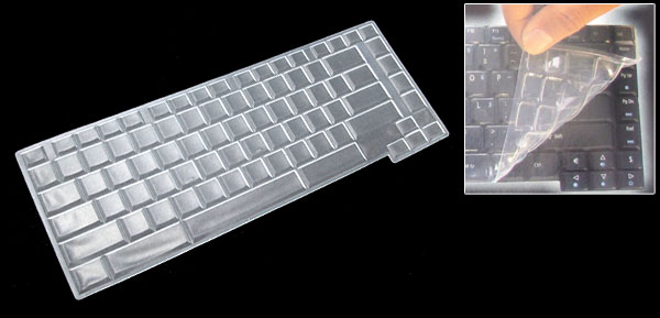 Laptop Notebook Keyboard Protector Silicone Skin Cover for HP 6510 6515 (ML-1020b)