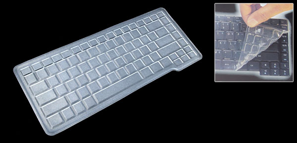 Clear Silicone Keyboard Protector Cover Skin for Acer Aspire 5000 (ML-1026)