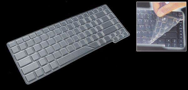 Clear Keyboard Protector Silicone Skin Cover for Acer 4710 4310 4920 (ML-1026c)