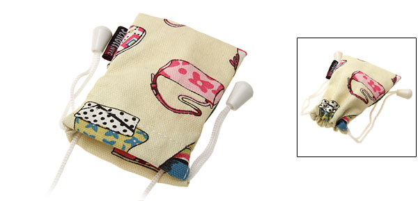 Stylish Cloth Pouch Bag for iPod Cell Phone Mp3