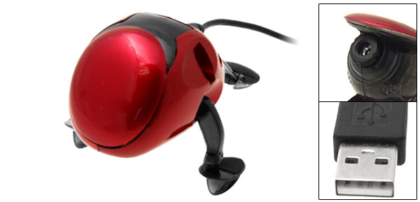 Mini Frog PC USB Digital Video Webcam Web Camera Red