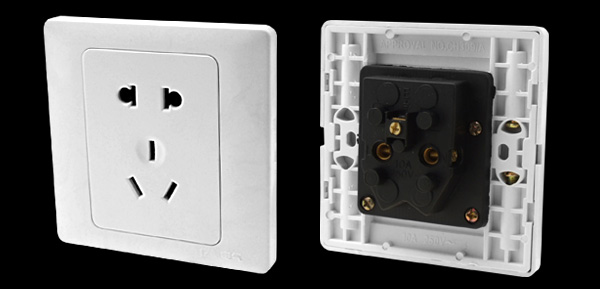 3 Pin Australian 2 Pin US Electric Socket Outlet Wall Plate