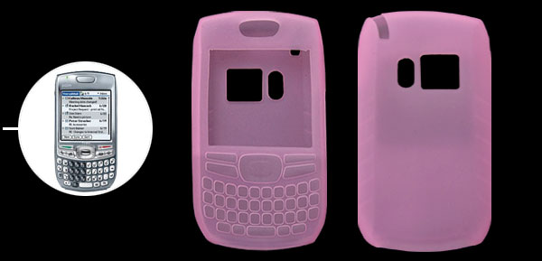 Protector Silicone Skin Case Cover for Palm Treo 680 750 Pink