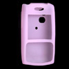 Stylish Silicone Skin Case Cover for Palm Treo 650 700 Purple