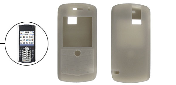 Fashion Silicone Protector Skin Case Cover for BlackBerry Pearl 8100 Gray