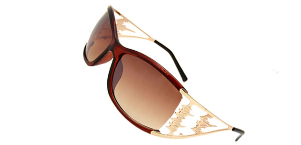 Women's Fancy Bat Sunglasses