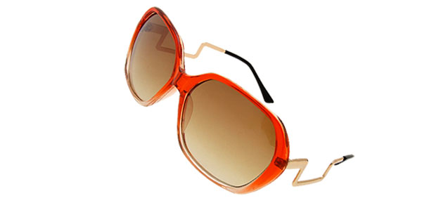 Fashion Trendy Womens Ladies Solar Shield Eyewear Sunglasses