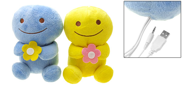 Lovely Smiley Dolls Laptop Notebook Desktop Mp3 Mp4 Speakers