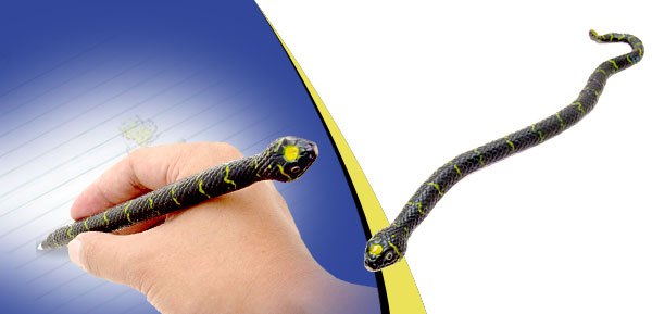 Black and Yellow Mangrove Snake Ball-Point Pen Ball Pen