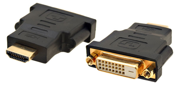 Black HDTV DVI-D Dual Link Female to HDMI male Adapter Jpowm