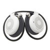 Comfy Wear Handsfree Wireless bluetooth Stereo Headphone Headset White