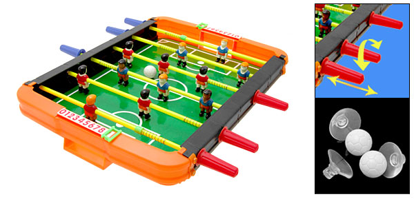 Children Toy Funny Plastic Table Football Soccer Game Box