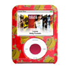 Red Hard Plastic Case for iPod Nano 3G 3rd Generation with Frog P...