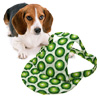 Grass Green Cloth Summer Sun Dog Cat Animal Pet Hat Cap with Dot
