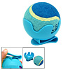 Dog Cat Pet Blue Toy Cricket Baseball Tennis Ball with Clip Brack...