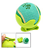 Green Toy Cricket Baseball Tennis Ball with Clip Bracket for Dog ...