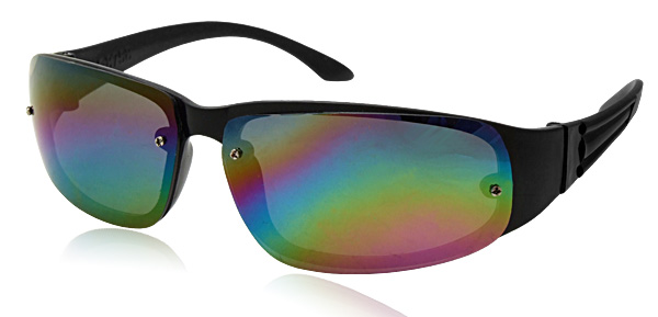 Sports Driving Sunglasses with Colorful Lens for Men