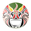 Great Mask Beijing Chinese Peking Opera Painted Faces Bottle Open...
