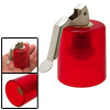 Mini Plastic Dual Purpose Wine Bottle Opener and Sealer w/ Lever Handle Red