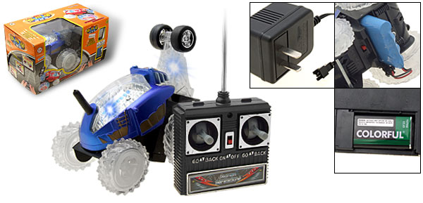 Toy - Radio Remote Control RC Racing Car One Blue