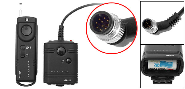 Camera Remote Control Wireless Shutter Release Cord N1 for Nikon D3 D300 D2H D200 D1H DIX D100