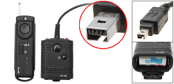 Camera Wireless Remote Control Shutter Release Cable N2 for Nikon D80 D70S