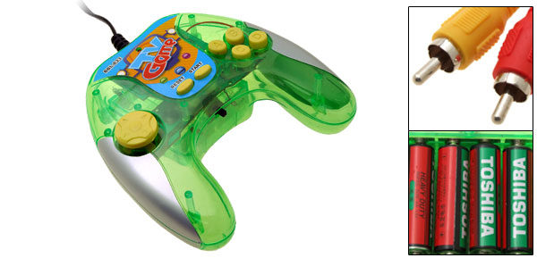 30 in 1 TV Video Games Hand Grip Controller Station Green