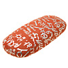 Orange Elegant Eyeglasses Case Eye Glasses Glass Hard Shell Holde...