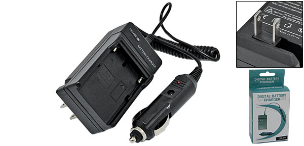 US Plug 100V-240V Digital Camcorder Battery Charger for JVC V607/V615