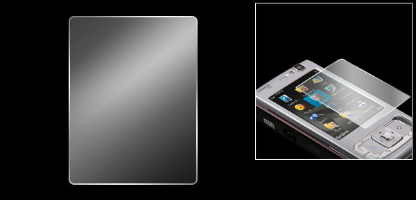 Replacement LCD Skin Guard Screen Protector for Nokia N95 8GB