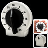 Round Interval Wind-up Mechanical Kitchen Food Timer 60 Minutes