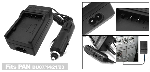 Digital Camera Battery Charger for Panasonic CGA-DU07 CGA-DU14 CGA-DU21