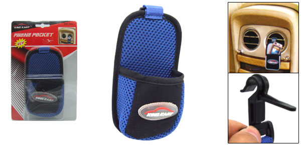 Car Air Vent Storage Pocket Bag Holder for iPod iPhone 3G