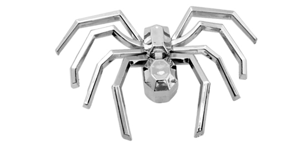Silvery Spider Exterior Interior Car Decorative Strip