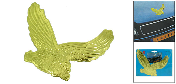 Golden Color Eagle Car Decoration Logo Badge (HL-8031)