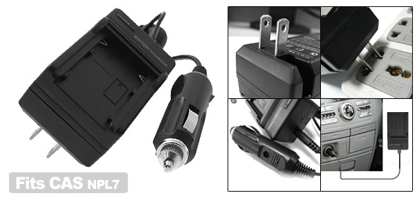 New Fast Digital Camera Battery Home Travel Charger For NPL7