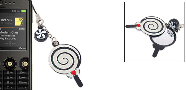 Lollipop Pendant Strap Lanyard for Cell Phone iPod