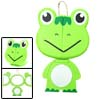 Pocket Compact Green Frog Travel Make Up Mirror with Stand