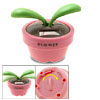 Magic Flip Flap Solar Powered Pink Flowerpot Toy Decoration