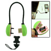 Green Emergency Mini USB Charge Cable for Sony Ericsson K750 W800