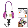 Mini Emergency USB Charge Cable Purple for Nokia N95 N93 N73 N70 6500S