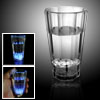 Crystal Plastic Water Drinking Glass with Flash Light