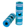 "Two Blue 3/8"" Axle Aluminum Alloy Foot Pegs for BMX Bicycle Bike"
