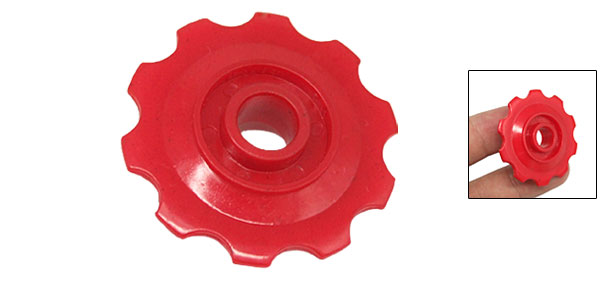 Plastic Oriented Decorative Bicycle Flywheel Jockey Wheel
