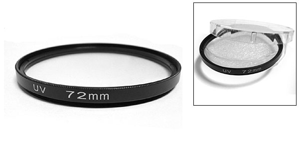 Universal Digital Camera UV Protection 72mm Lens Filter