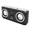 Fashion Mini Portable Black Sound Speaker Box for MP3/PC