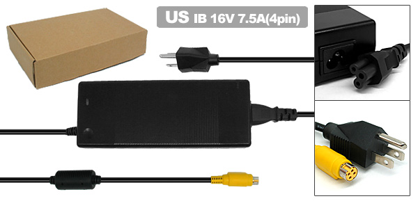 US Plug 100-240V Laptop AC Adapter w Power Cord for IBM ThinkPad G40 G41 ( 02K7085 02K7086 )